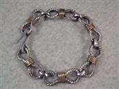 Silver Link Bracelet 925 Silver 31.63g